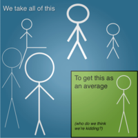 Stickman The Myth of Average