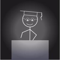 Stickman Graduate
