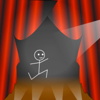 Stickman goes broadway